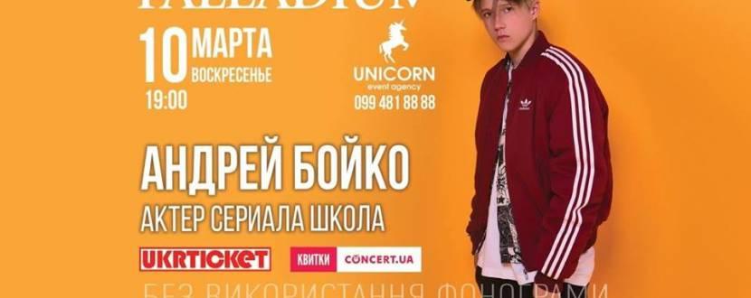 Концерт Андрея Бойко
