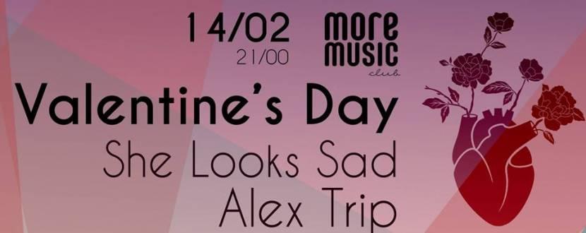 Вечеринка Valentine's Day: Alex Trip и She Looks Sad