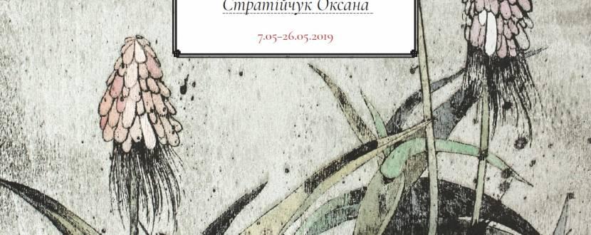 Вікно в таємний сад - Виставка графіки Оксани Стратійчук