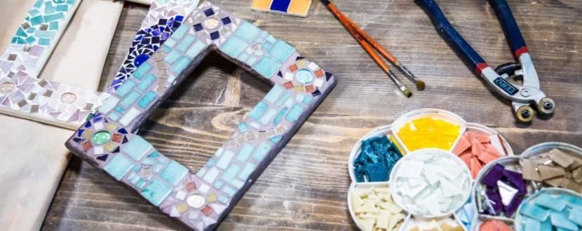 Майстер-клас з мозаїки в стилі Гауді