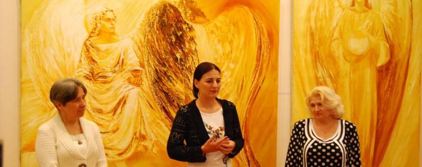 Відкриття виставок художників України
