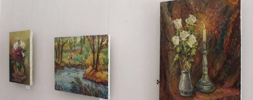 Виставка тернопільського художника-живописця Віктора Макарова
