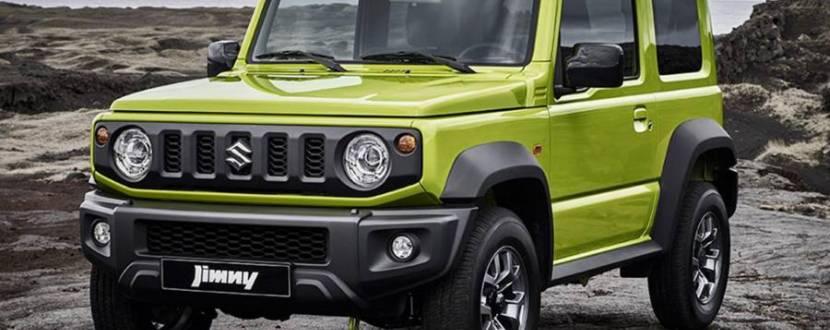 Тест-драйв нового покоління Suzuki Jimny