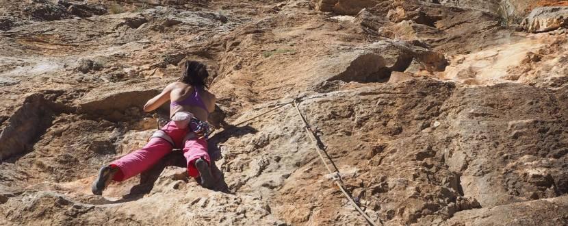 Відкритий тренінг по скельному альпінізму