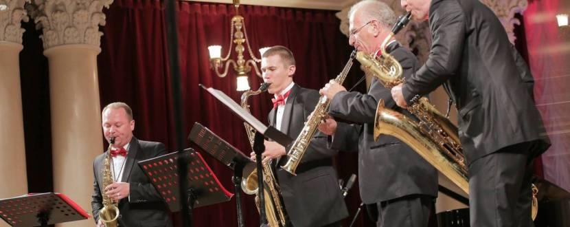Чарівний ритм - Концерт квартету саксофоністів