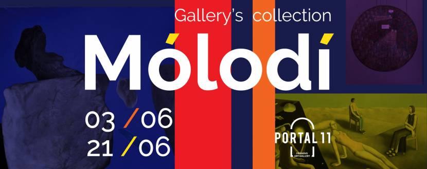 Mólodí - Виставка колекції галереї Portal 11