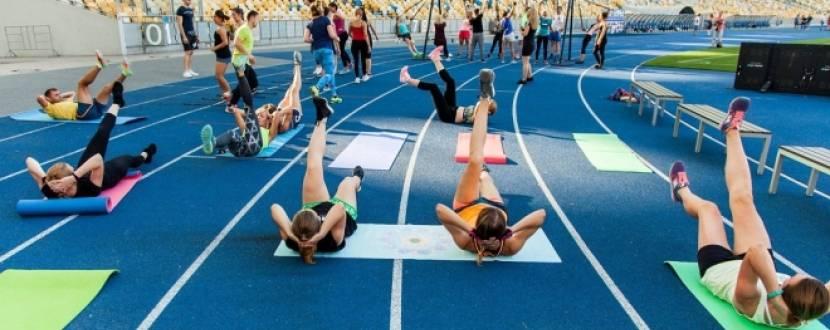 Відкриті тренування на НСК Олімпійський