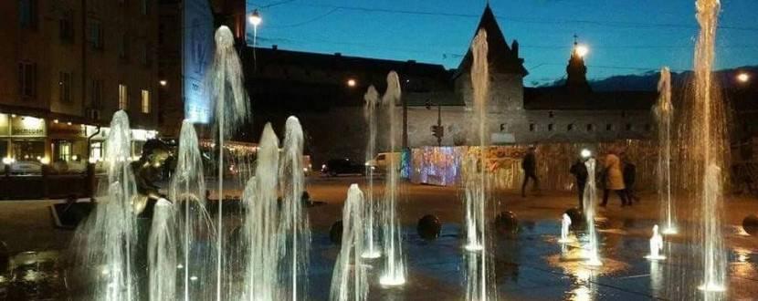 Графік роботи львівських фонтанів
