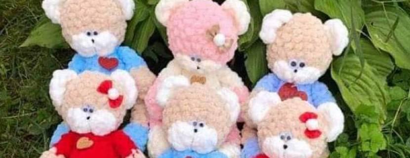 М'які ведмедики для порятунку Вiктoрiї Пoлюги зi СMA