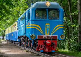 Відкриття Львівської дитячої залізниці