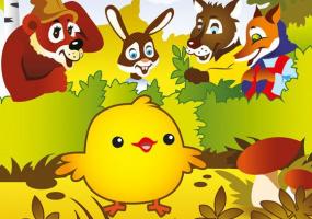 Сімейна казка - Золоте курча