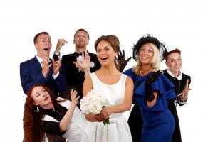 Розкішне весілля - комедійна вистава
