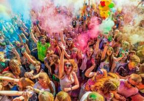 Фестиваль фарб Холі 2021
