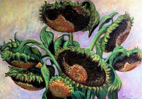 І знову квіти - Виставка живопису Романа Патика