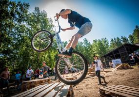 Відкритий Чемпіонат Львова з велотріалу