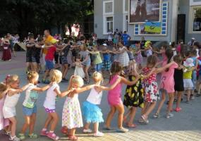 Міський фестиваль-конкурс на краще дитяче свято Гуляночка