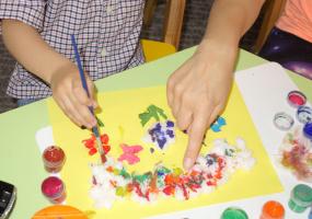 Художественное творчество для деток (3 года), цикл занятий