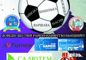 """Турнір з міні-футболу """"Футбольна Битва Районів"""""""
