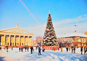 Відкриття новорічної ялинки 2021 у Тернополі