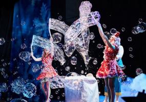 Легенда про сніг - Новорічна казка-фантазія від Crazy Bubble Show Шоу