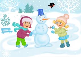 Сніговички і сонечко - Вистава