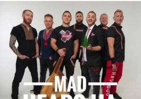 Гурт «Mad Heads UA» на відкритті новорічної ялинки у Тернополі