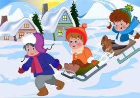 Зимові забави на Єлисейських полях