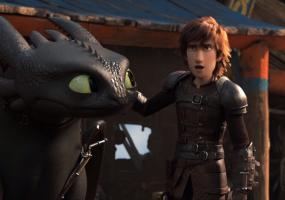 Як приборкати дракона 3: Прихований світ - Анімація