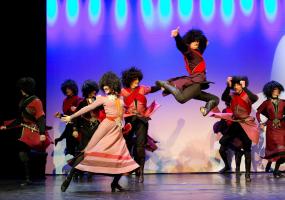 Кавказький театр танцю LEGACY у Києві