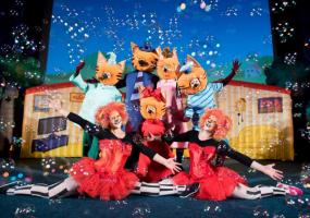 Три кота - Ліцензійне шоу