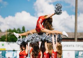 Відбір до команди підтримки Wolves Cheerleading Team