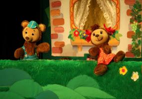 Сказка «Веселые медвежата»