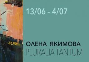 Виставка PluraliaTantum Олени Якимової