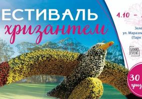Фестиваль хризантем в Зеленом театре