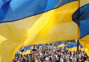 День прапора нашої країни у Хмельницькому