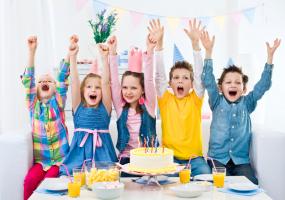 Детские Дни Рождения в Papashon на Сахарова