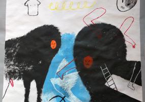Виставка київського митця Дмитра Красного «Як я провив минулого лютого»