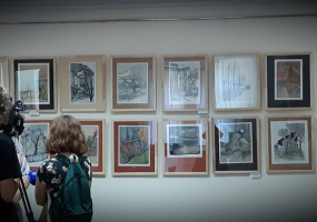 Виставка картин заслуженого художника України Є. Удіна