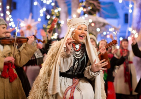 Тина Кароль с Рождественским концертом в Киеве