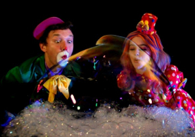 ЛЕГЕНДА О СНЕГЕ новогодняя сказка-фантазия от Crazy Bubble Show Шоу