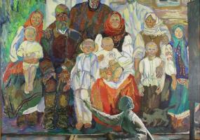 Виставка діалог Жага до живопису Жінки та З життя жінки Чоловіки