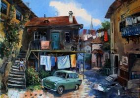 Экскурсия по дворикам Одессы «Старенькие дворники подметают дворики»