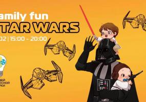 Семейная вечеринка Family Fun: Star Wars