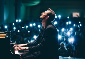 Єгор Грушин з концертом просто неба