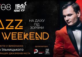 Джаз на даху під Зорями! Концерт Павла Ільницького