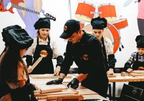 Кулінарний майстер-клас для дітей у Red Zeppelin