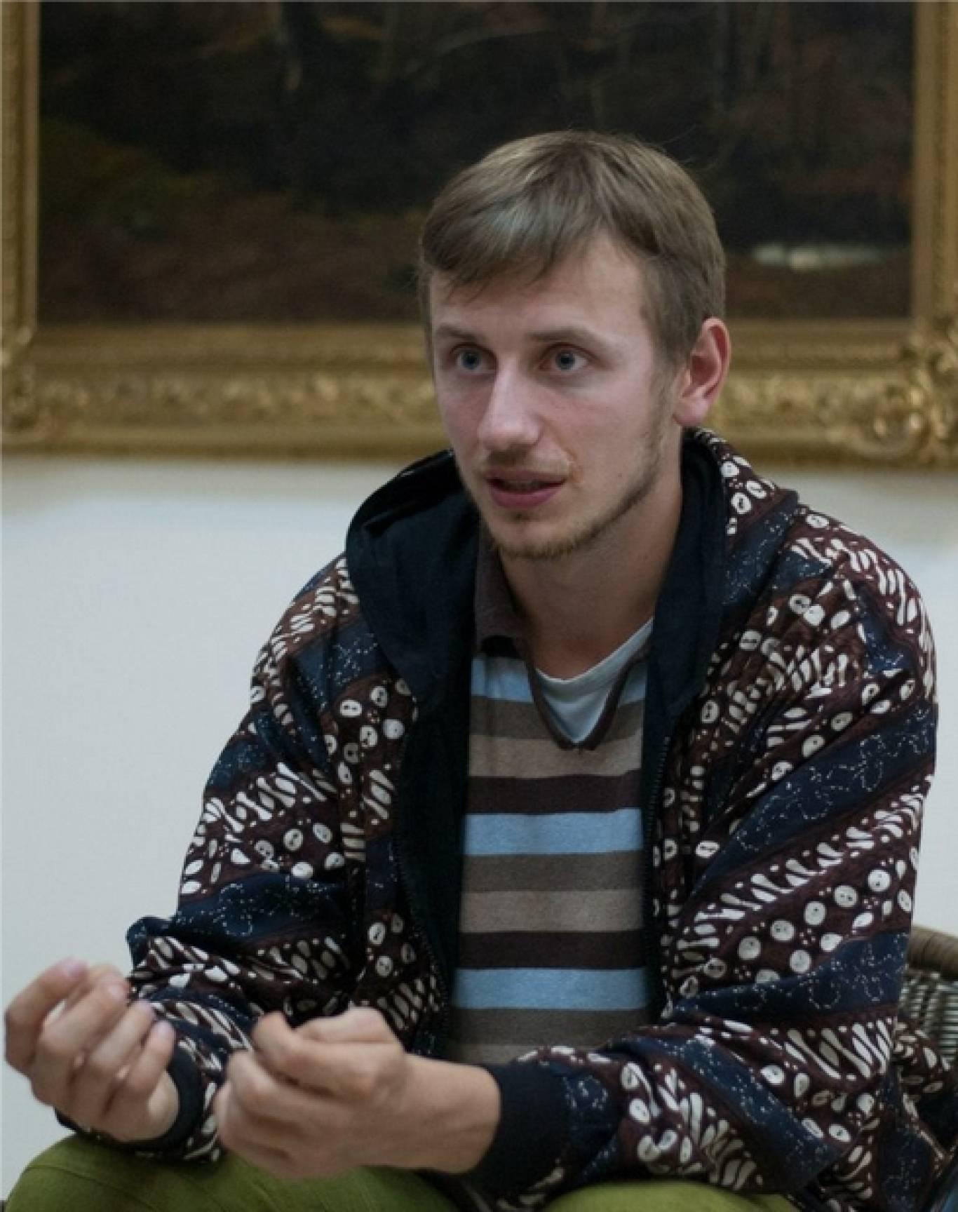 Зустріч з журналістом, блогером і мандрівником Богданом Логвиненко