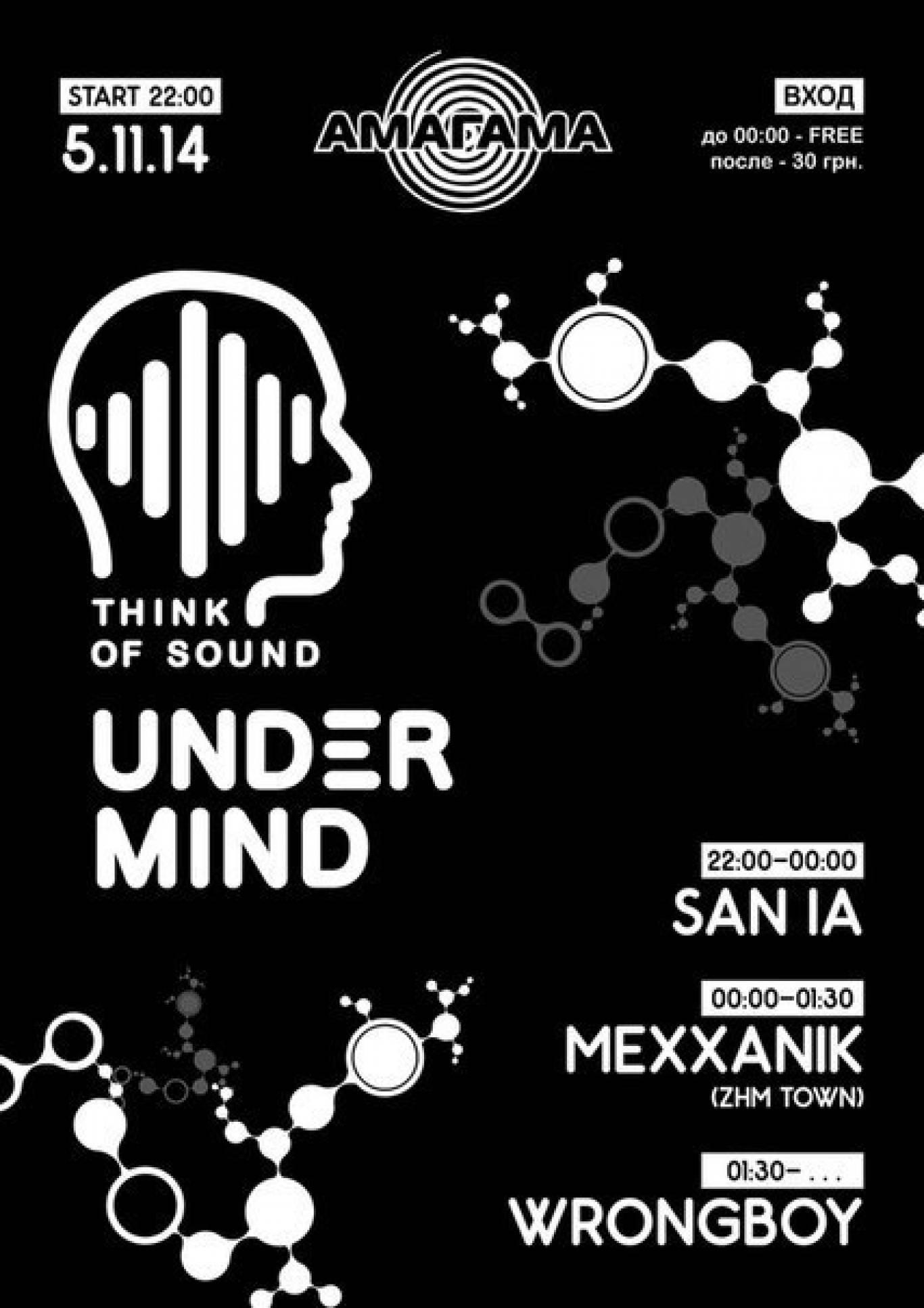Вечірка «Think of sound»