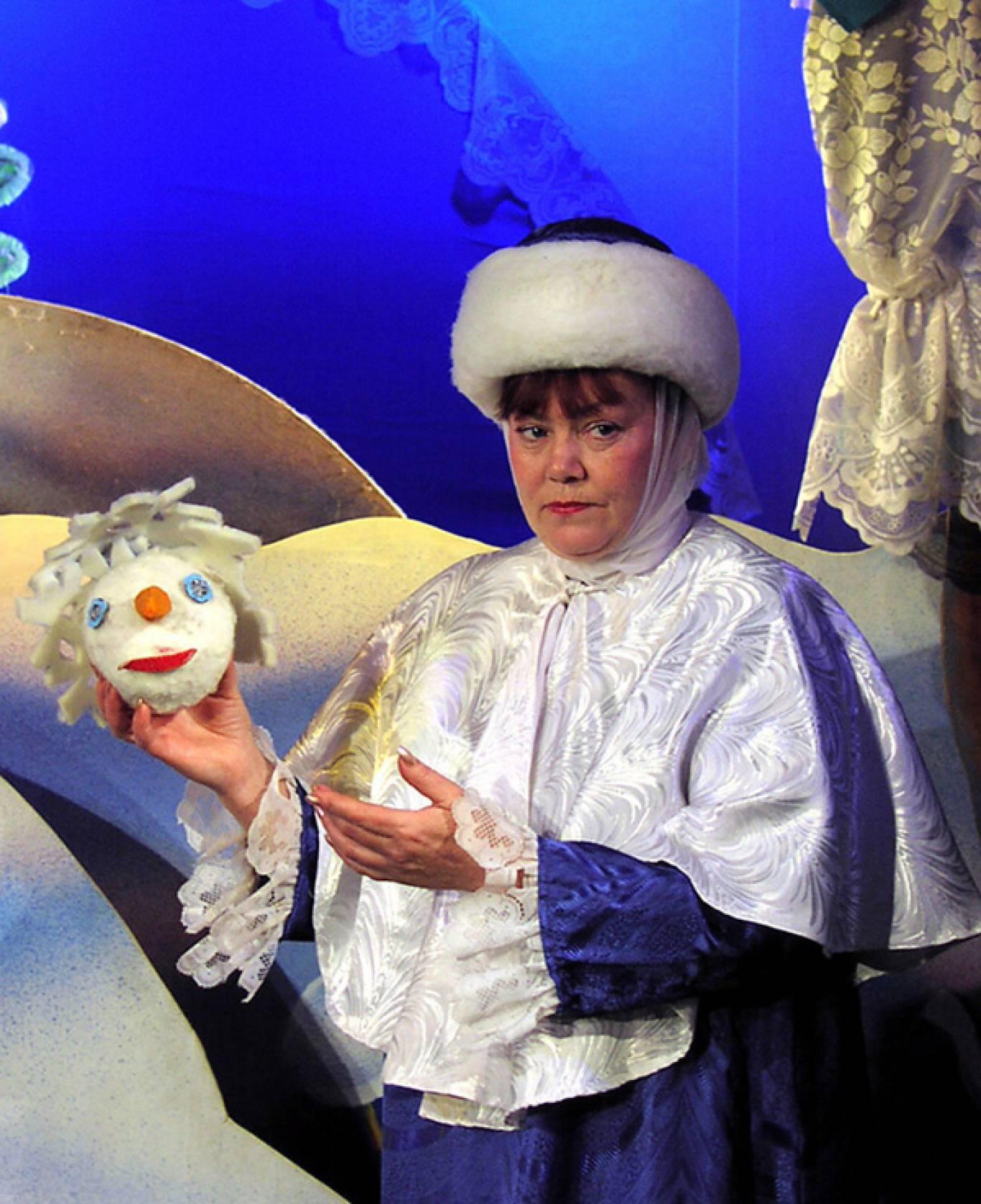 Лялькова вистава «Кому потрібен сніговик»