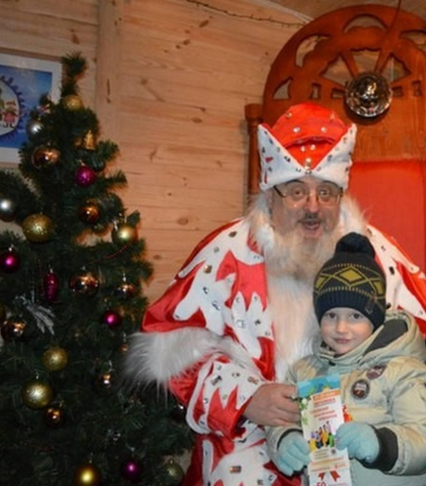 Розваги у резиденції Діда Мороза